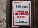 Gare aux chasseurs